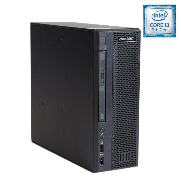 Zoostorm SFF i3-9100F, 8GB, 480GB SSD, GT 710, DVDRW Desktops